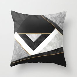 Lines & Layers 2 Throw Pillow