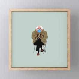 Bernie's Mittens Framed Mini Art Print