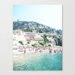 Positano beach II Canvas Print