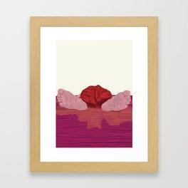 "From ""Tuesday 13"" Bad Luck Series: Wet Floor Framed Art Print"
