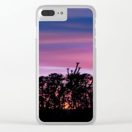 Somewhere on the Beach Clear iPhone Case