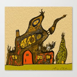 Home Sweet Home by Greg Phillips Canvas Print