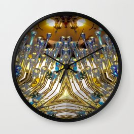 The Light Fantastic Wall Clock