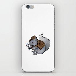Squirrel-lock Holmes iPhone Skin