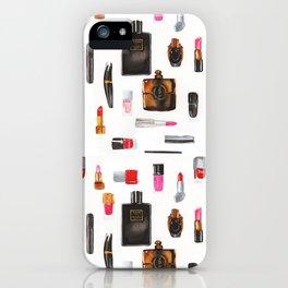 Fashion illustration pattern iPhone Case