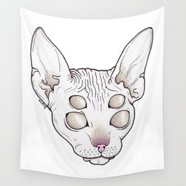 Alien Kitty Wall Tapestry