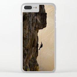 Yosemite Climb Clear iPhone Case