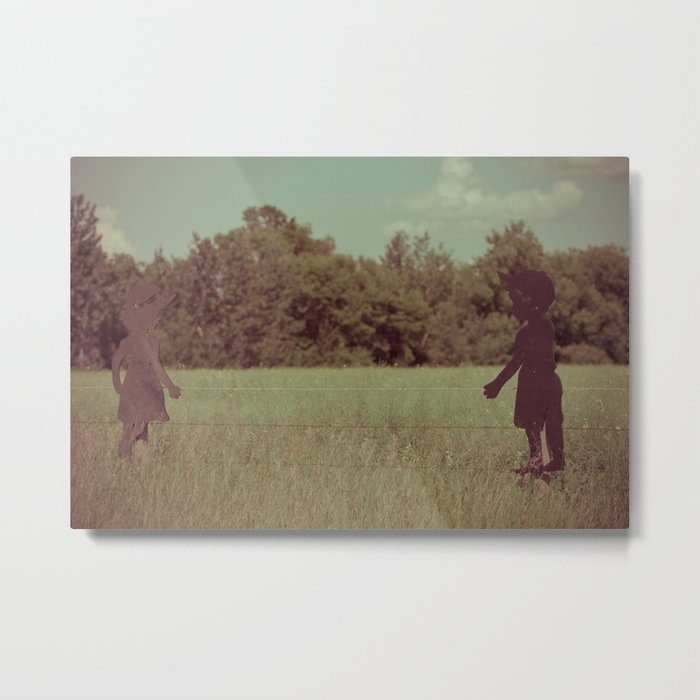 When the Girl meets the Boy Metal Print
