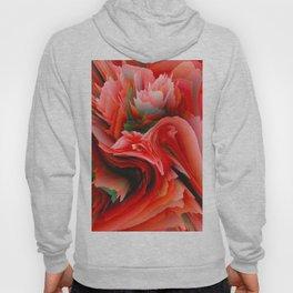 red rose v Hoody