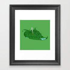 Full of Leaf Framed Art Print