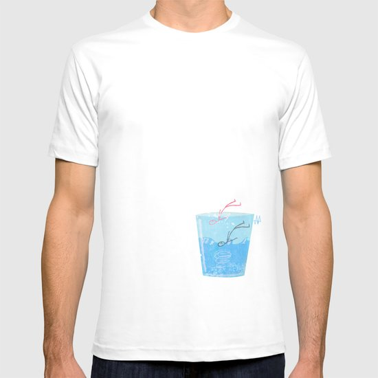 Some people can get drawn in a glass of water T-shirt