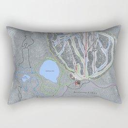 Anthony Lakes Resort Trail Map Rectangular Pillow