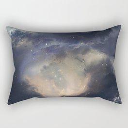 GOLD NEBULA Rectangular Pillow