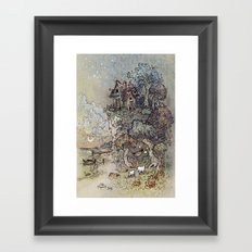 Villa Framed Art Print