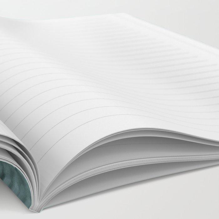 TEAL GLITTER Notebook