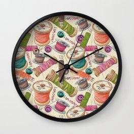 I Am Crafty Wall Clock