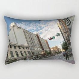 Charest blv - Old Quebec Rectangular Pillow