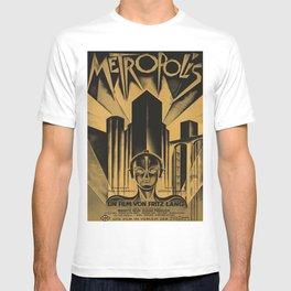 Metropolis, Fritz Lang, 19, vintage movie poster T-shirt