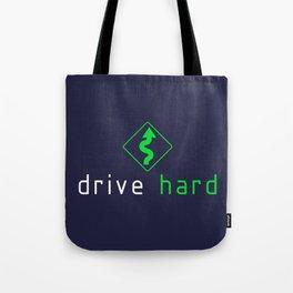 Drive Hard v5 HQvector Tote Bag