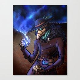 Steampunk Time Traveller Canvas Print