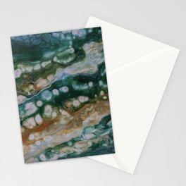 Viridian Lagoon Stationery Cards