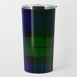 Scottish Campbell Tartan Pattern-Black Watch #2 Travel Mug