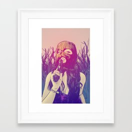 Masked & Dangerous Framed Art Print