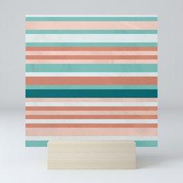Pattern Stripes Color Ming Alice Mini Art Print
