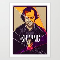 the shining Art Prints featuring Shining by FourteenLab