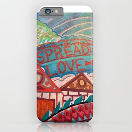 Spread Love it's the BK WAY iPhone Case