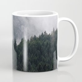 Foggy Mountain Forest Coffee Mug