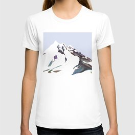 Mountains In The Cold Design T-shirt