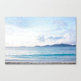 Cotton Candy Clouds II Canvas Print