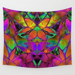 Floral Fractal Art G306 Wall Tapestry