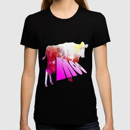 The Cow Says Moo T-shirt