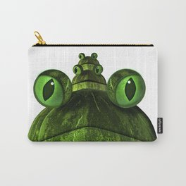 Frog Face Carry-All Pouch