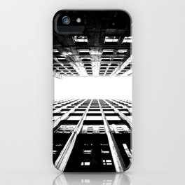 Hyperspace Buildings iPhone Case