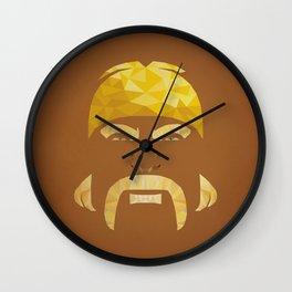 Mr. Hogan Wall Clock