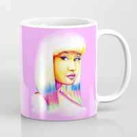 nicki Mugs featuring Nicki by Jaimie