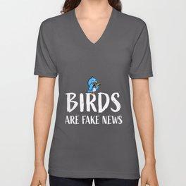 Birdwatching is a haox   Funny Bird Gift Unisex V-Neck