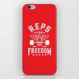 Reps For Freedom v2 iPhone Skin