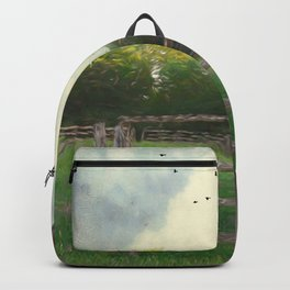 Rustic Summer Barnyard Backpack