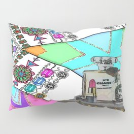 Beauty Bling and Fashion Remix Pillow Sham