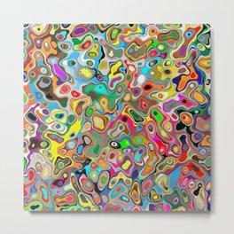 Abstract Liquid Print Metal Print