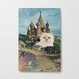 Giant Cat Metal Print