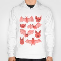 bats Hoodies featuring Bats by Jack Teagle