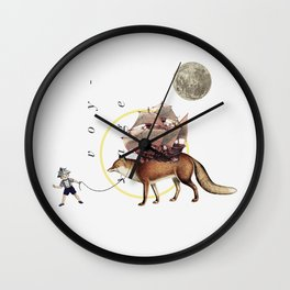 Dromomania Wall Clock