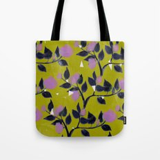 Rose VineAngle Tote Bag