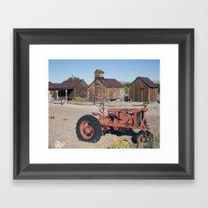 Farm Equipment Framed Art Print