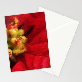 Christmas Flower Stationery Cards